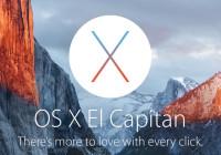Ce este nou la SO X El Capitan?