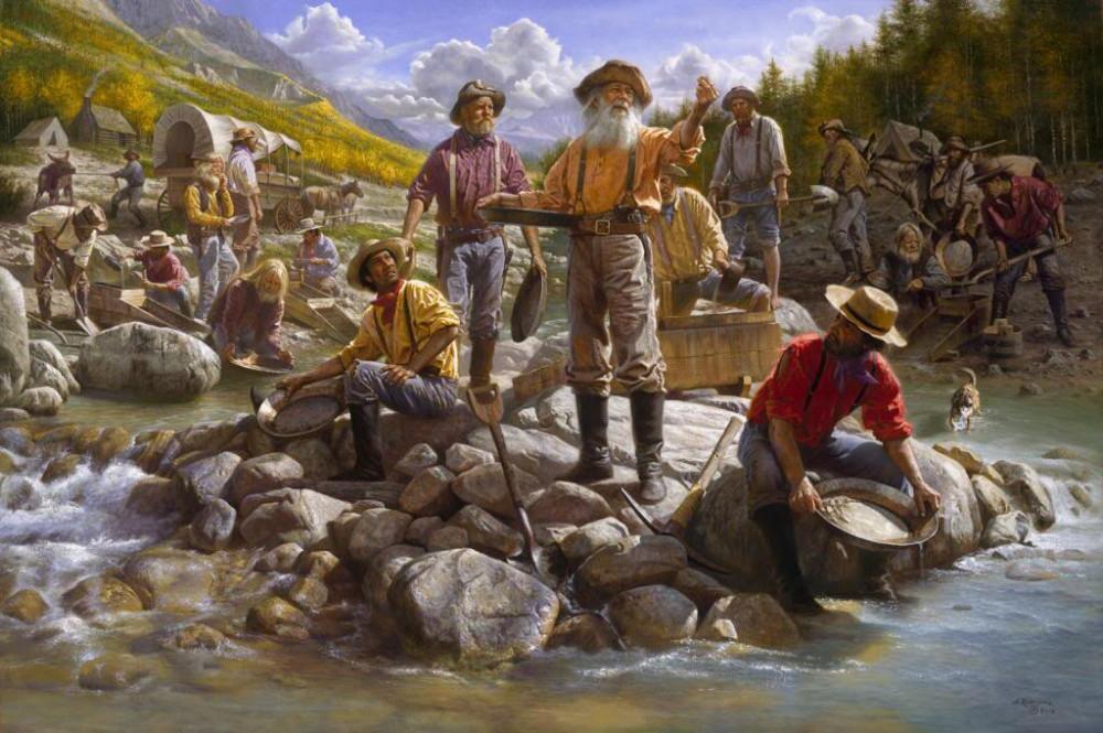 Cele mai vechi metode de obtinere a aurului