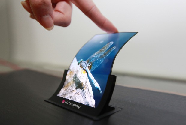 Display-urile flexibile OLED de la LG